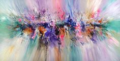 """Large acrylic painting. Abstract, modern painting. Saatchi Art Artist Peter Nottrott; Painting, """"Apperance L 1"""" #art SOLD"""