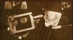James Ensor with the camera (1945)