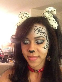 My Dalmatian Makeup. More
