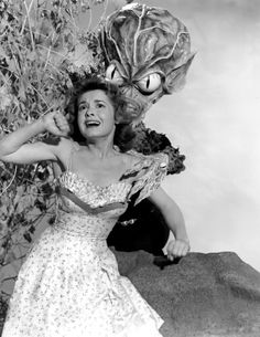Invasion of the Saucer Men, 1957. This is the kind of shite Forbidden Planet supplanted -- raising the bar.