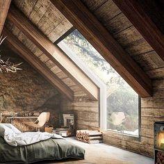 """7,586 Likes, 82 Comments - Paulina Ostrowska 🦌 (@mrsostrovia) on Instagram: """"#perfectbedroom A room with a View 🍂 choć to obraz dość mocno wyimaginowany przytulam go tego…"""""""