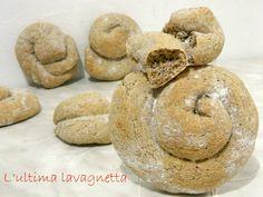 Chiocciole di pane semi integrale