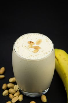 Hovkonditorn: Banana Peanut Butter Protein Smoothie