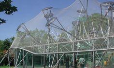 Affenstation im Tierpark Hellabrun, München - Tragwerksplanung - Ingenieurbau