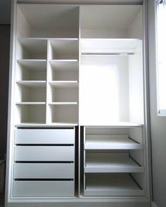 Closet Renovation, Bedroom Organization Closet, Bedroom Closet Design, Bedroom Cupboard Designs, Cupboard Design, Bedroom Cupboards, Wardrobe Room, Wardrobe Door Designs, Closet Layout