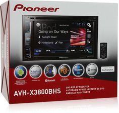 "Pioneer AVH-X3800BHS 2-DIN Bluetooth DVD Receiver 6.2"" Display HD RADIO REMOTE #Pioneer"