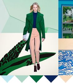 Pattern People | Color Palette Green Machine