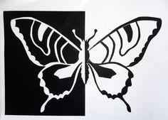 Positive Negative ART P1000125 Positive Negative Space Sign Positive Negative Examples Positive Negative Big Butterfly ...