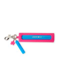 Limited Too Pink Glitterbomb Power Pack & Keychain