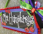 Teacher Name Sign Personalized