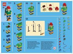 LEGO Monthly Mini Model Build JUNE 2013 - Fisherman