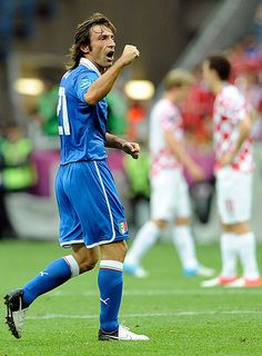 Andrea Pirlo's spectacular goal against Croatia. He is the master!