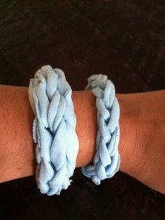 » Blog Archive » Finger Knit Jersey Knit