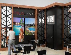 Sisus Hotel Travel Turkey Exhibition Stand Design