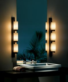 light vertical wall bracket direct wire wall sconce with three lights