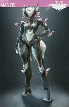 The Orchid Mantis Project https://www.artstation.com/p/9QygR Nick Edinger Concept Artist -- Share via Artstation Android App, Artstation © 2017