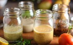 Healthy Vinagerettes1 (love the jar idea for my dressings)