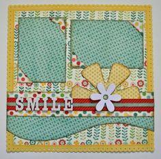 kiwi lane designs | Kiwi Lane Designs - Scrapbooking  This looks like a really fun and cheerful summer layout!