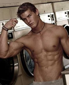 OH look! It's Marcus doing his laundry… LOL ;) (Because of Low) love this book!!!!