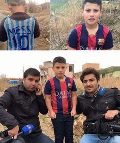 """Piedra On Line.-: Encuentran al """"Messi de Irak"""", el niño que conmovi..."""