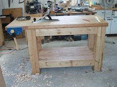 Woodworking Bench For Children Woodworking Woodworking Bench Plans, Japanese Woodworking, Woodworking Logo, Workbench Plans, Easy Woodworking Projects, Garage Workbench, Carpentry Projects, Woodworking Videos, Reloading Room