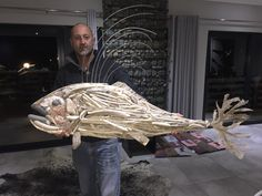 Driftwood rooster fish by Chris Field