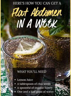 Consume A Mixture Of Chia With Lemon And You Will Get A Flat Abdomen In 1 Week fat drink fat workout drinks and Nutrition plan plans to lose weight recipes tips for beginners Tips for women burning detox drinks Diet Tips diet Nutrition Education, Diet And Nutrition, Health Diet, Nutrition Drinks, Cheese Nutrition, Nutrition Activities, Nutrition Guide, Healthy Detox, Healthy Drinks