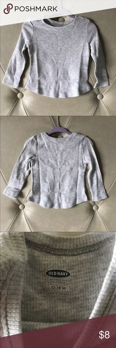 NWT Old Navy Shirt New with tag old navy shirt Size 12/18 months Old Navy Shirts & Tops Tees - Long Sleeve