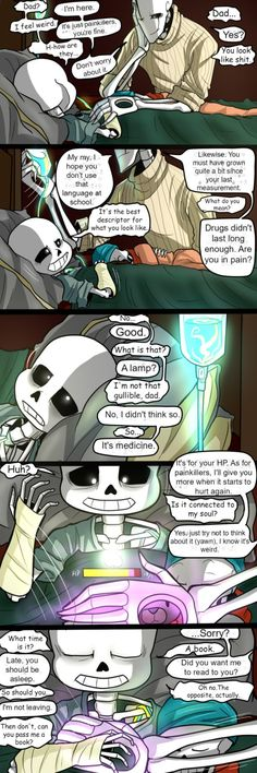 Sans is officially a Royal Sentry!  But it seems that Gaster may still be holding back some secrets... What does the Royal Scientist have to hide? I hope you all enjoy the new page! With final...