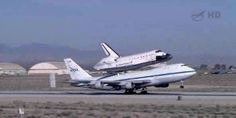 Endeavor taking off for its last journey