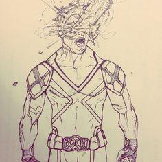 Cyclops (Jay Yass version) Insta : @100daysofsketching