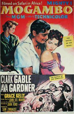 Mogambo (1953) - Clark Gable, Ava Gardner, Grace Kelly