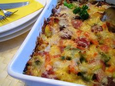 Scandinavian Food, Chorizo, Quiche, Goodies, Food And Drink, Yummy Food, Dinner, Cooking, Breakfast
