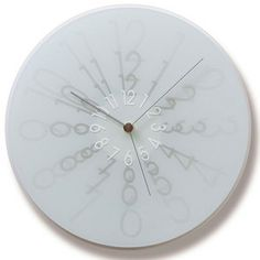 'zoom clock' designed by madoka sato for lemnos