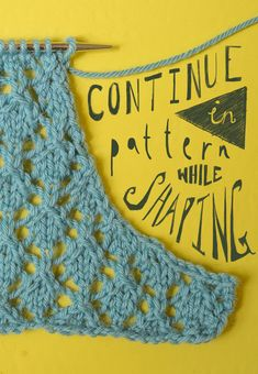 Ysolda's Technique Thursday — maintaining stitch patterns while increasing or decreasing.