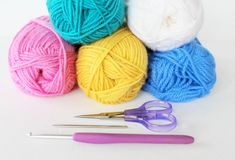 yarn crochet supplies