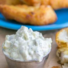 Recipes - NatashasKitchen.com Best Tartar Sauce Recipe, Homemade Tartar Sauce, Sauce Recipes, Seafood Recipes, Tarter Sauce, Chicken Recipes, Fun Cooking, Cooking Recipes, Recipes