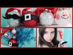 Ideas para hacer adornos navideños http://ini.es/16D2dWl #BolasDeNavidad, #DecoraciónNavidad, #DecorarArbol, #DiyNavidad, #IdeasNavideñas, #Navidad