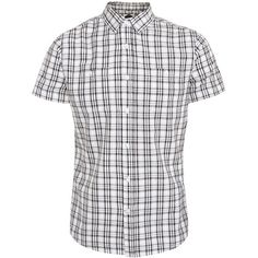 Black and White Check Short Sleeve Shirt ($23) via Polyvore