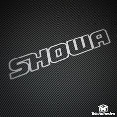 Pegatina Showa #showa #pegatina #adhesivo #tuning #moto #TeleAdhesivo