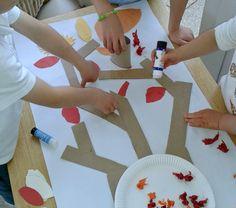 autumn tree arts and crafts