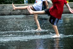 """Synchro"", by Cristiano Salinardi Pelagalli |  | #rain #dance #dancing #dancers #ballerini #kids"