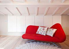 Eclettico - lamadesign.it Lounge, Couch, Interior Design, Furniture, Home Decor, Chair, Airport Lounge, Interior Design Studio, Sofa