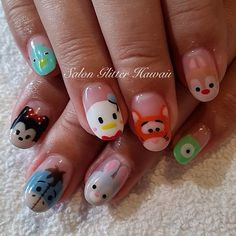 Salon Glitter Hawaii @salonglitterhawaii Tsum tsums!!!! #t...Instagram photo | Websta (Webstagram)