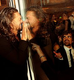 Jason Momoa and Peter Dinklage.