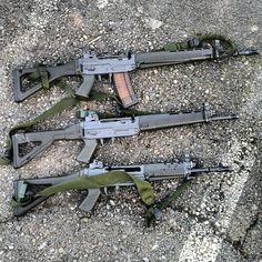 SWISS GUNS — F ass/Stgw 90 (SIG 550), SIG 551, SIG 553. Photo...
