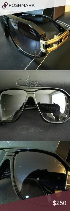 a8f57a3197f In mint condition.in it s leather case with engraved lenses tissus Cazal Accessories  Glasses