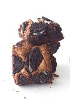 double chocOlate oreo brownies
