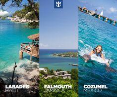 Três joias do Caribe em um inesquecível cruzeiro de sete noites a bordo do Allure of the Seas! Clique na imagem, escolha sua data preferida e faça já a sua reserva!
