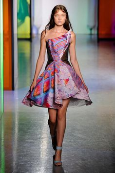 printed #dress from Peter Pilotto